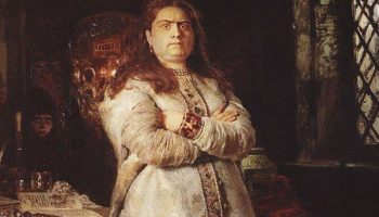 Исторический портрет Софья Алексеевна