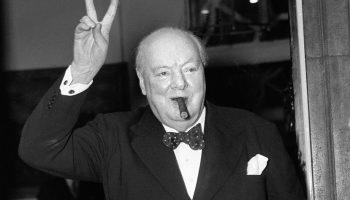 Исторический портрет Уинстона Черчилля