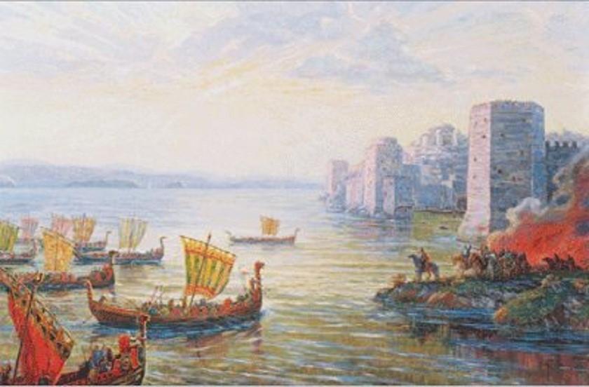 Русы у Константинополя