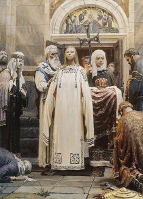Ольга. Крещение