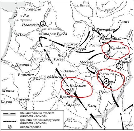 Козельск на карте