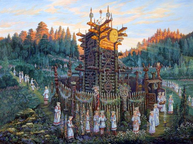 ШАГ #1–2: Восточные славяне